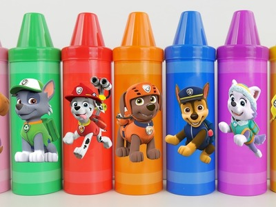 Learn Colours with Paw Patrol Surprises And Toys Learn Colors with Crayons Sorting Surprises