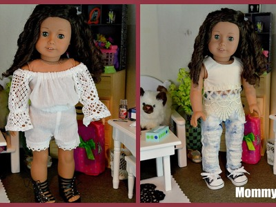 NEW AMERICAN GIRL DOLL OUTFITS! Opening Etsy Clothes from Sew Cute Forever
