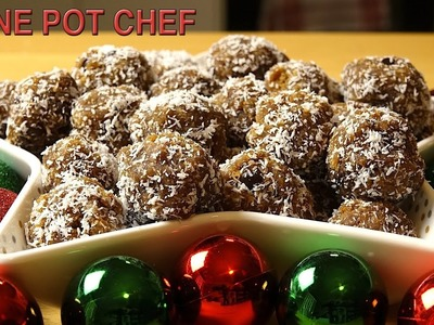 No Bake Gingerbread Truffle Balls | One Pot Chef