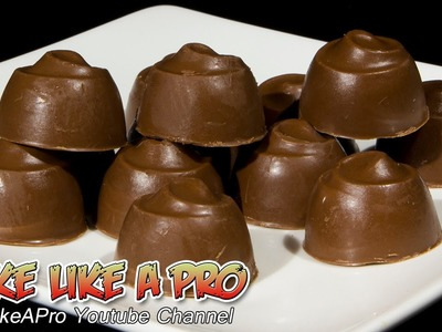 Nutella Filled Milk Chocolates Recipe