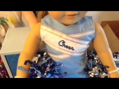 Opening a cheerleading outfit for my American Girl Doll off of Ebay