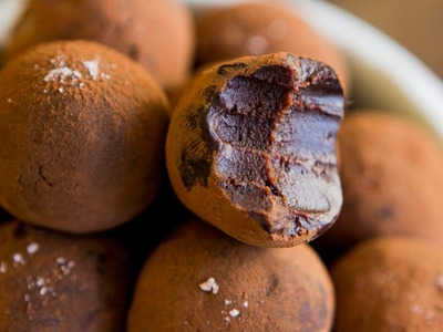 Salted Caramel Whisky Chocolate Truffles Recipe - Hot Chocolate Hits