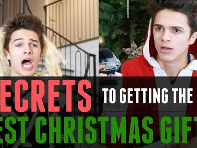 Secrets to getting the BEST Christmas Gifts | Brent Rivera
