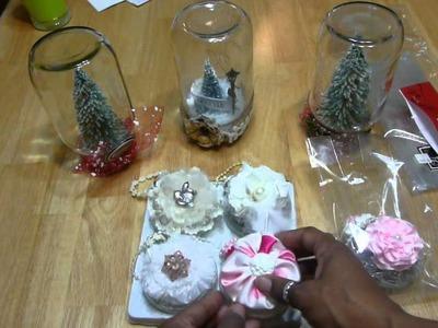 Shabby Chic Christmas Ornaments