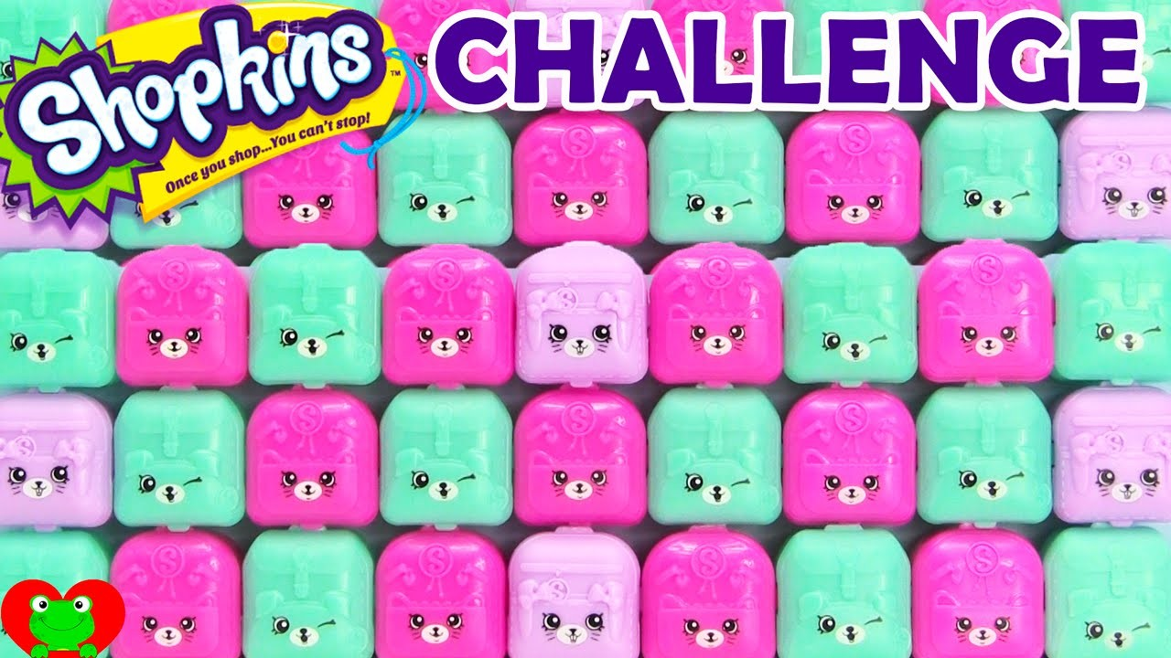 Shopkins Challenge Season 1 2 3 4 5 and Exclusives in Petkins Backpacks