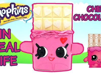 Shopkins in Real Life #30 CHEEKY CHOCOLATE in PINK