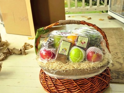 The Fruit Company Fruit Basket Unboxing: Fruit Basket Review Stop Motion Video