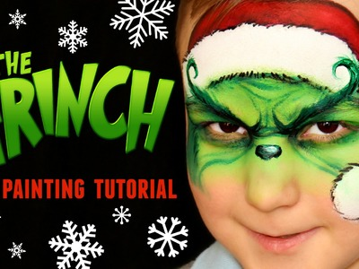 The Grinch — Christmas Face Painting & Makeup Tutorial