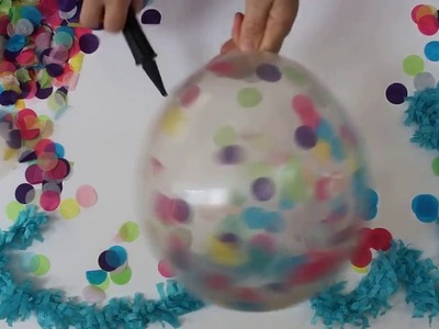 Confetti Balloon DIY   Party Hacks   Kit & Caboodle Parties