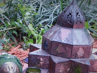 D.I.Y. Patio Decorating- Moroccan Style
