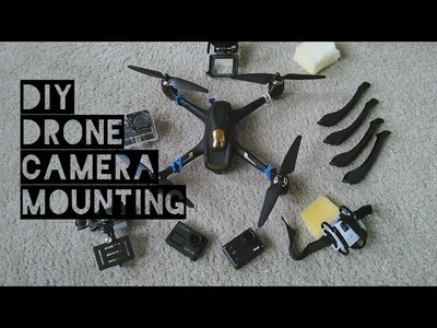 DIY Action Camera Mount for Most Drones