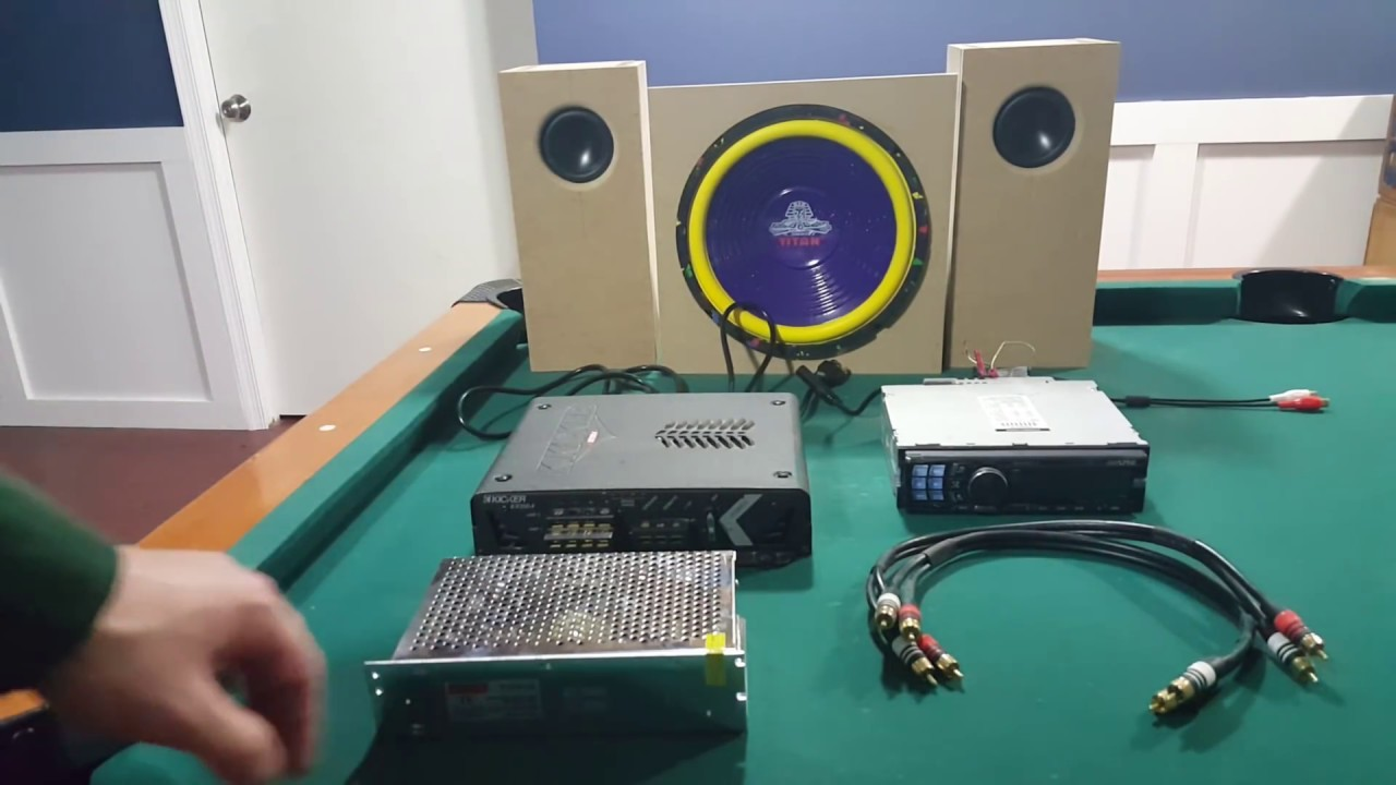 can i hook up two amps to one sub We are not talking about connecting two speakers to a stereo amp, as that simply involves connecting one spe aker to each how to connect 2 speakers to 1 amplifier.