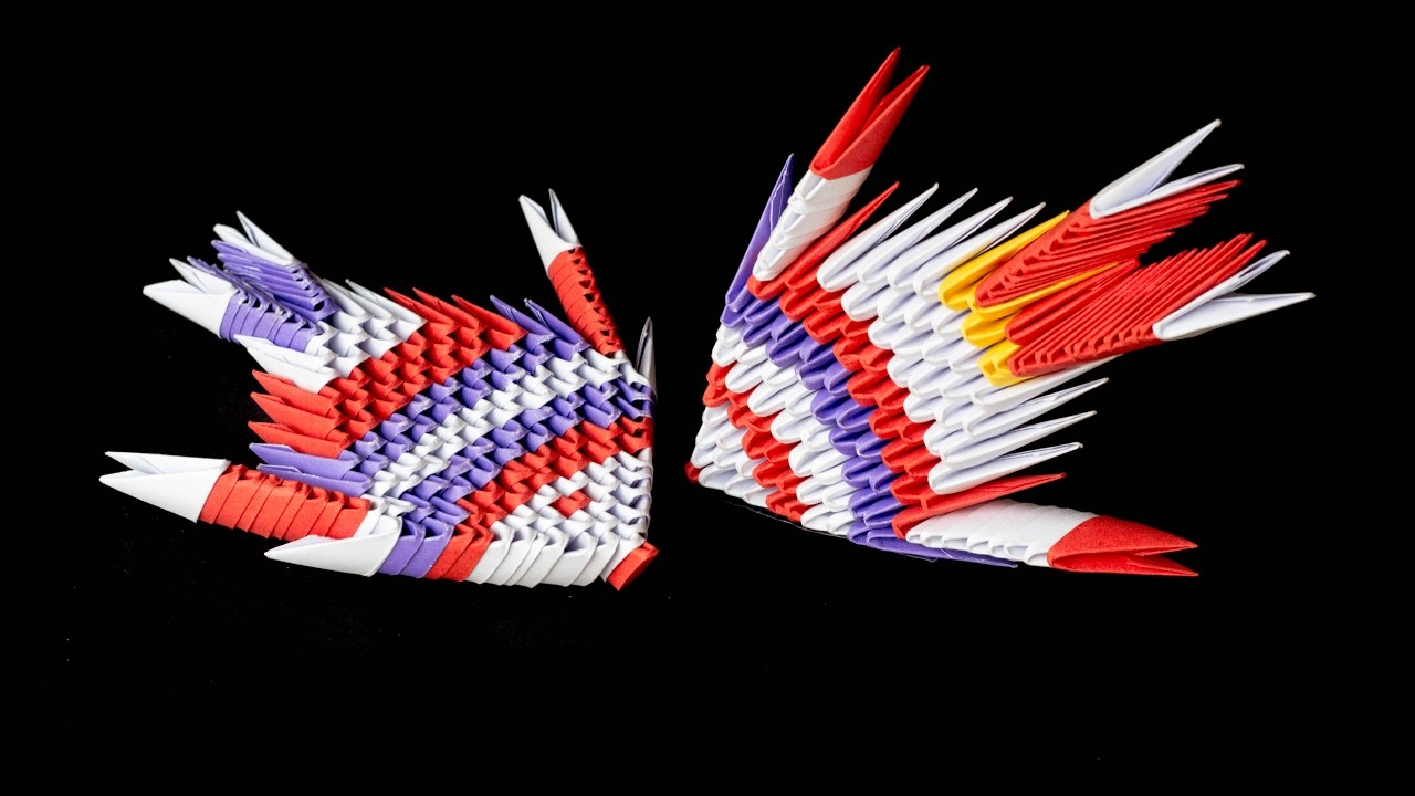 Diy how to make 3d origami fish tutorial try at for What to make with fish