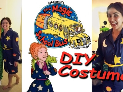 DIY Magic School Bus Costumes | How I Made Ms. Frizzle & Liz