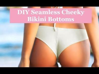 DIY Seamless Cheeky Frankie's Bikini Bottoms