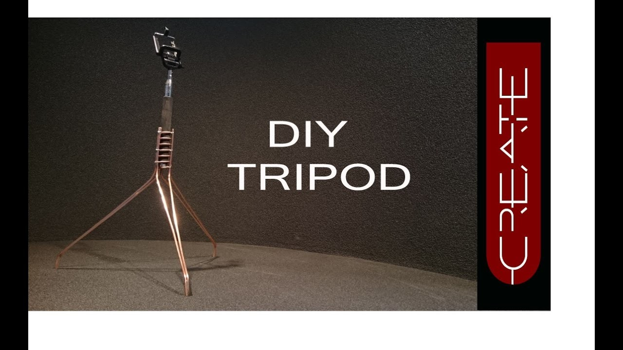 DIY tripod for your selfie stick #How to make a tripod for your phone