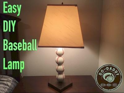 Easy DIY Baseball Lamp