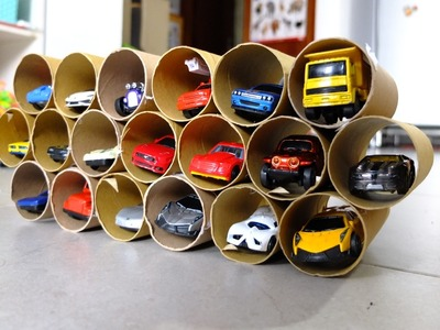 Garage for Kid DIY | Parking Garage DIY