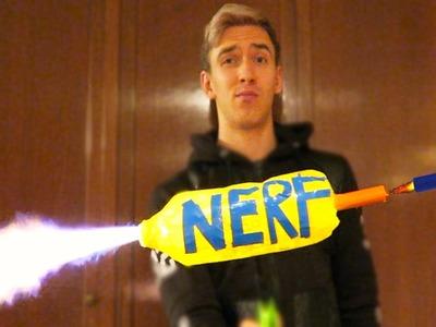 Homemade Nerf Gun (DIY Nerf Mods)