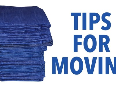 How to Use a Moving Blanket - Tips for Moving - MovingBlankets.info