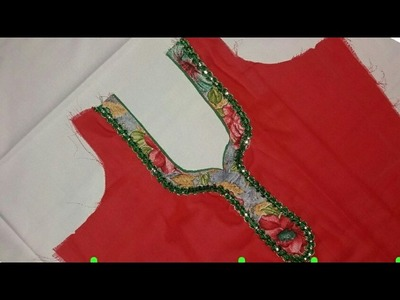 Kameez neck cutting and stitching in hindi
