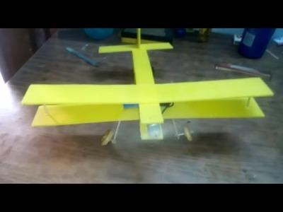 Make a model Plane, less than 5 minutes