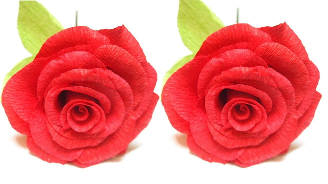 Paper Craft Rose How To Make Flowers Flower Making Origami Rose
