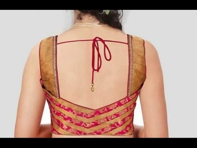 Bridal Designer Blouse Made Easy Cutting And Stitching DIY)