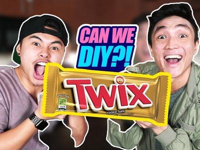 CAN WE DIY?! | GIANT TWIX?!
