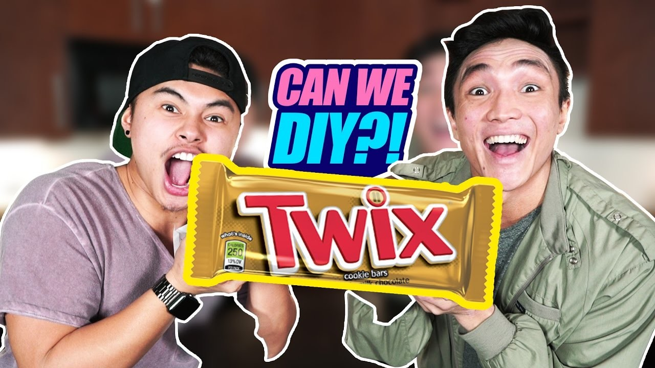 CAN WE DIY?!   GIANT TWIX?!