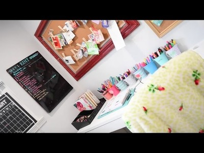 Craft Room Tour! | Tay from Millennial Moms