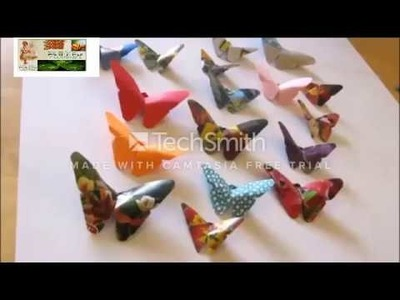 Crafts to do at Home - art and craft making paper butterfly