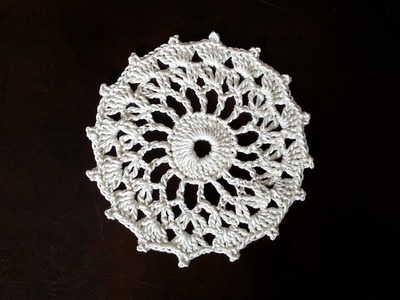 Crochet Round Motif - Sunshine Mini Doily Pattern