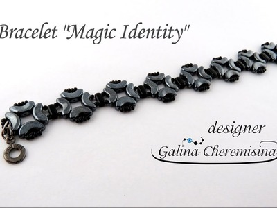 "DIY: Bracelet ""Magic Identity"" with Arcos® par Puca® beads [Video Tutorial]"