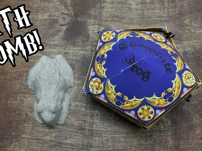 DIY Chocolate Frog Bath Bomb | Harry Potter