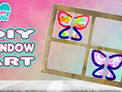 DIY Colorful Butterfly Craft! | Official PomPom Wow