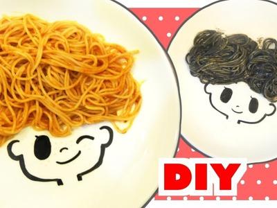 DIY Cute Spaghetti Plate | CC FOR ENGLISH