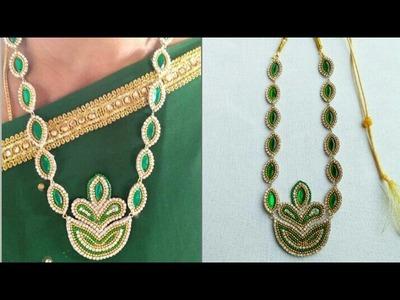 DIY. Designer Necklace. Kundhan Necklece. Simple and Easy Tutorial #See Something New