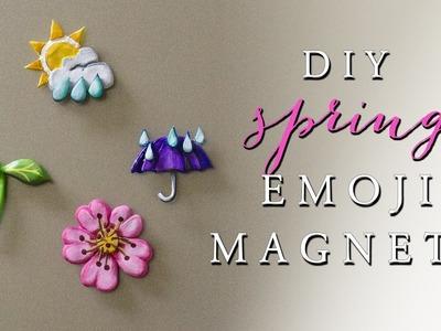 DIY Emoji Magnets! Polymer Clay Tutorial