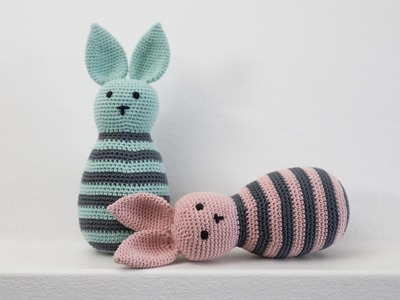 DIY: How to crochet a rabbit by Søstrene Grene