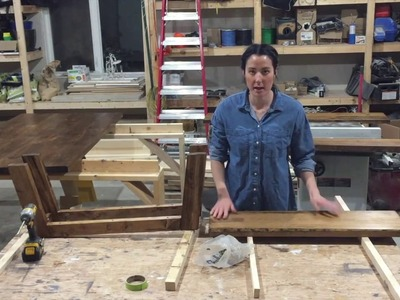 DIY: How to Make an Entry Bench for beginners