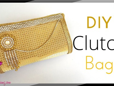 DIY Paper Clutch Bag Tutorial step by step making at home - for Girls. Teenagers - Maya Kalista !