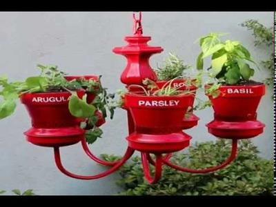 DIY Plant Pots Ideas - Flower Vases Craft - Home Decor & Gardening Tutorial