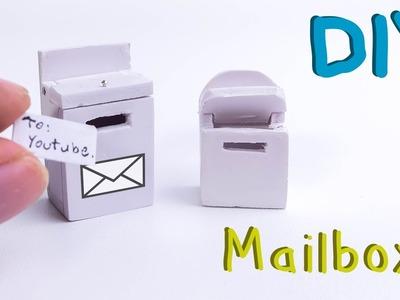 DIY Realistic Miniature Mailbox | Dollhouse
