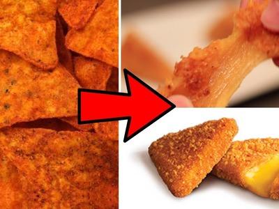 DIY STUFFED Doritos- How to make cheese-filled Doritos