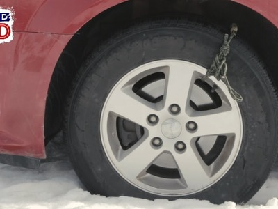DIY Tire Chain Rope: Man Hacks