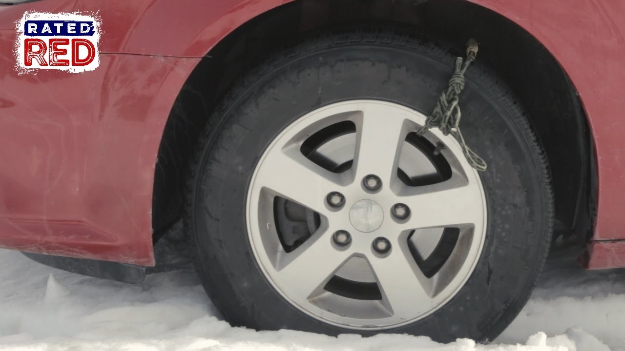 Diy tire chain rope man hacks for Diy tire