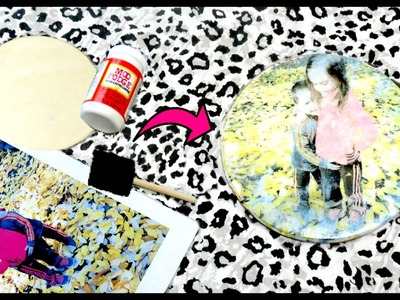 DIY | Transfer a Photo to Wood with Mod Podge