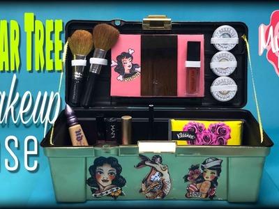 DOLLAR TREE DIY Makeup Case