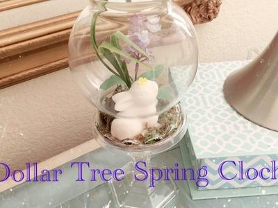 Dollar Tree DIY Spring Bunny Cloche - Easy Less than $5